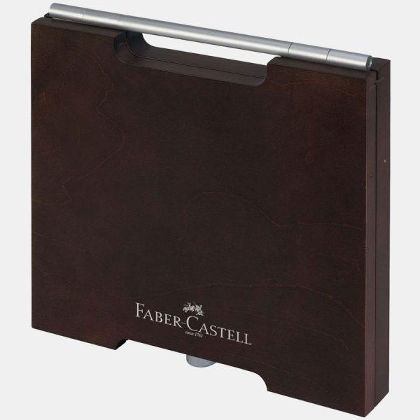 Faber-Castell – Matite Colorate Polychromos Valigetta legno 72