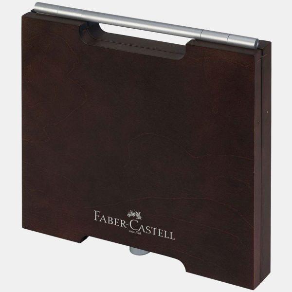 Faber-Castell - Matite Acquerellabili Albrecht Dürer Valigetta legno 72