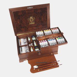 Schmincke – Mussini scrigno di legno