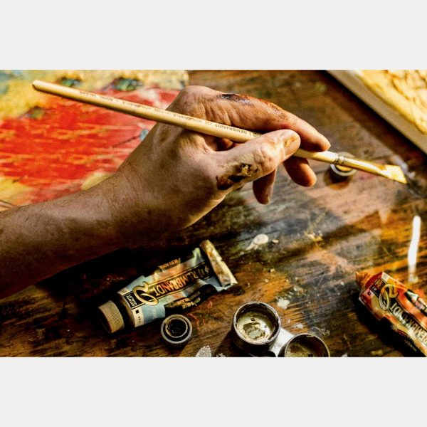 Royal Talents cassetta legno colori olio rembrandt Pellegrini Brera Milano