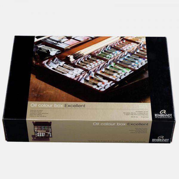 Royal Talents cassetta legno colori olio rembrandt001 pellegrini brera milano