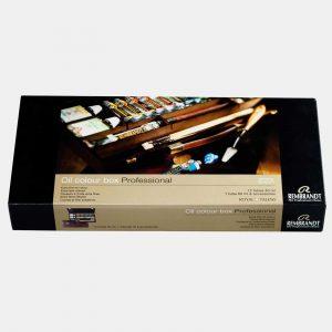 Royal Talents cassetta legno colori olio rembrandt003 Pellegrini Brera Milano