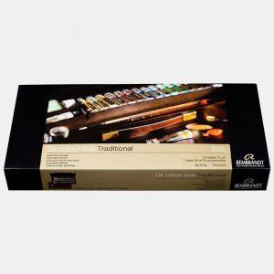 Royal Talents cassetta legno colori olio rembrandt004 Pellegrini Brera Milano
