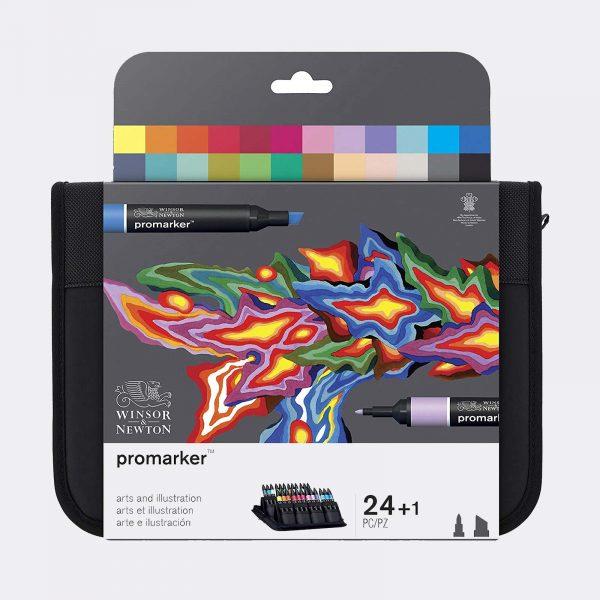 pennarelli Winsor Newton promarker Art Illustration Pellegrini Brera Milano