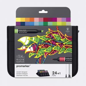 pennarelli Winsor Newton promarker Student Designer Pellegrini Brera Milano