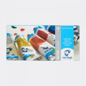 Colori all'Acquerello Talens Van Gogh Confezione 10 tubetti da 10ml Pellegrini Brera Milano