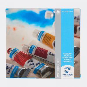 Colori all'Acquerello Talens Van Gogh Confezione 20 tubetti da 10ml Pellegrini Brera Milano