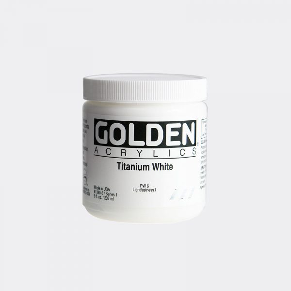 Golden Fluid Acrylic Colours 273ml Pellegrini Brera Milano