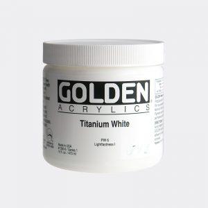 Golden Fluid Acrylic Colours 473ml Pellegrini Brera Milano
