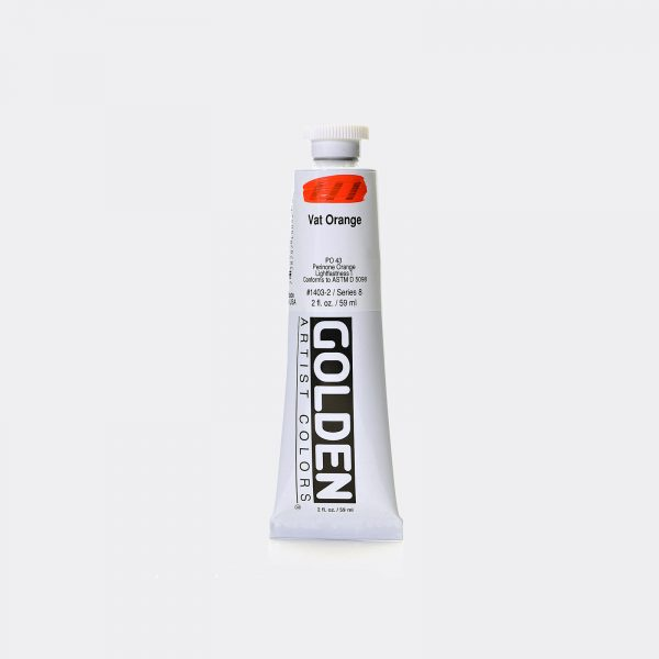 Golden Fluid Acrylic Colours 59ml Pellegrini Brera Milano