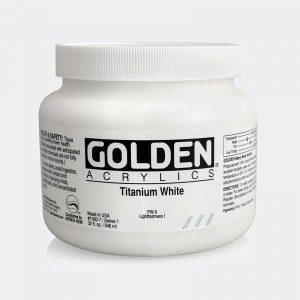 Golden Fluid Acrylic Colours 946ml Pellegrini Brera Milano