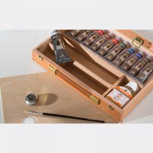 Cassetta legno maimeri Colori Olio Classico M0399068 Pellegrini Brera Milano