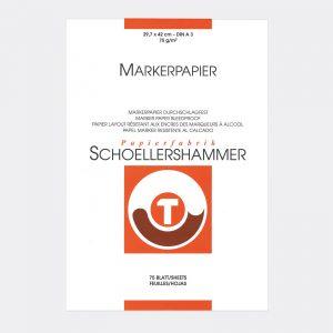 blocco Schoellershammer marker quick layout A3 Pellegrini Brera Milano