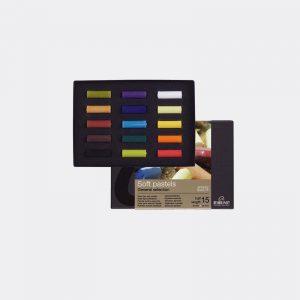 confezione 15 mezzi pastelli Rembrandt Talens Pellegrini Brera