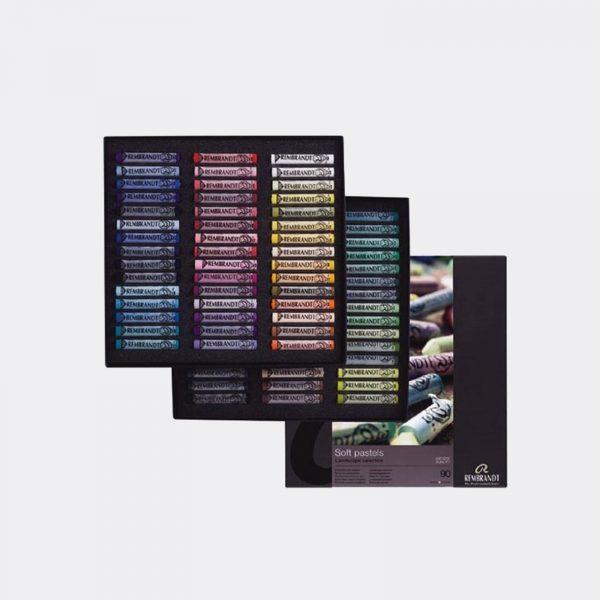 confezione 90 pastelli Rembrandt Talens Pellegrini Brera
