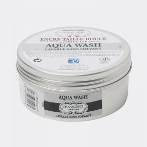 Inchiostri calcografici Aqua Wash per taglio dolce Charbonnel a base di oli idrosolubili 150ml